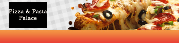 Pizza Pasta Palace Bundbanner